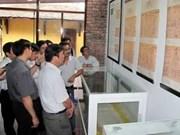 法国越侨向顺化宫廷文物博物馆赠送《安南人的技术》木板画