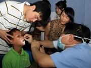 韩国医生帮助越南中部地区唇腭裂孩子治疗