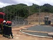 越老边境地区发电站工程正式落成