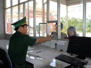 越南颁发陆地边界口岸活动协调机制