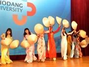 越南与韩国文化交流增进两国人民的情谊