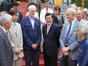 越南国家主席张晋创同国际科学家会面