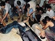 越南强烈谴责使用化武屠杀无辜平民的行为