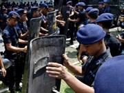 东盟防长扩大会议机制首次反恐演习在印尼举行