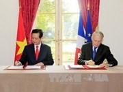 越南与法国发表联合声明
