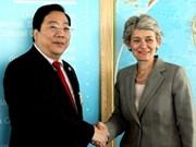 越南继续支持联合国教科文化组织各项改革