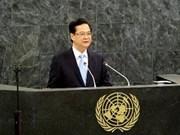 舆论对阮晋勇总理在第68届联合国大会上发表的演讲的评价