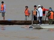 老挝进行打捞遇难客机