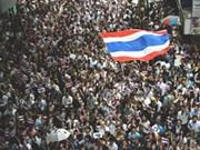 泰国总理呼吁民众结束抗议示威活动