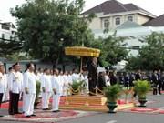 柬埔寨驻越南大使馆举行柬埔寨国庆60周年庆祝典礼