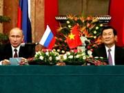 俄罗斯舆论高度评价普京总统访越的成果