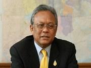 泰国总理呼吁结束示威活动