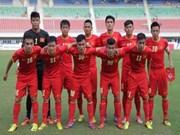 越南男足队以7比0大胜文莱