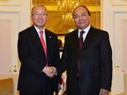 越南政府副总理与韩国副总理举行会谈