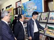 越南一些地方举行马年春节报刊展会