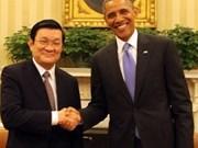 2013年越南与多国升级双边关系