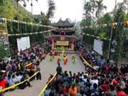 河内市香迹寺庙会和荣圣庙会纷纷开庙迎接四面八方游客
