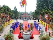 越南海阳省隆重举行昆山—劫泊春节庙会