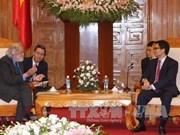 越南政府副总理武德儋会见英国首相特使