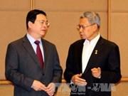 越南代表团出席东盟经济部长非正式会议