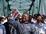 泰国反政府示威领袖同意与总理英拉进行谈判
