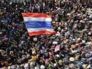 泰国反政府示威者停止封锁曼谷
