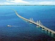 东南亚最长跨海大桥正式通车