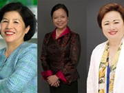 越南三位女企业家被列入《福布斯》最有权势女企业家名单