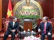 越南国会主席阮生雄分别会见日本和阿塞拜疆新任驻越大使