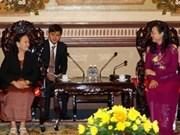 越南胡志明市与柬埔寨各省市加强合作