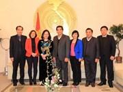 越南与德国加强地方合作