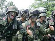 """新加坡和泰国""""克查新加""""联合军演结束"""