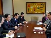 越南外交部海外越南人国家委员会代表团访问加拿大