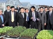 越南国家主席张晋创探访日本茨城县