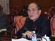 国会主席阮生雄会见各国议会联盟主席