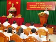 阮晋勇总理主持召开九龙江三角洲地区大米生产和销售会议