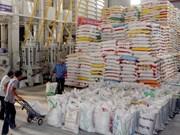 越南大米出口价格小幅上涨