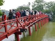 2014年前3个月赴河内市旅游的游客量猛增