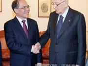 国会主席阮生雄会见意大利总统