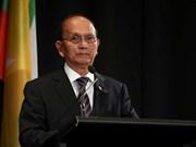 缅甸总统吴登盛承诺坚持民主进程