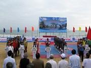 2014年全国海滩排球比赛正式开赛