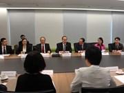 越南祖国阵线中央委员会主席会见新加坡各部门领导
