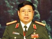 越南高级军事代表团出访韩国