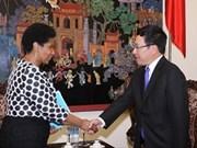 越南政府副总理兼外长:越南妇女参政比例越来越高
