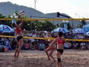 2014年全国海滩排球比赛落下帷幕