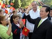 越南政府总理圆满结束出席核安全峰会和出访各国之旅
