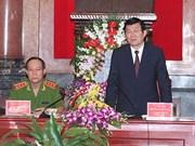 张晋创主席:公安力量需在全民维护祖国安全运动扮演核心作用