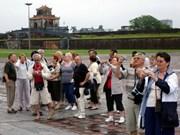 赴顺化古都旅游的国际游客量大幅增加