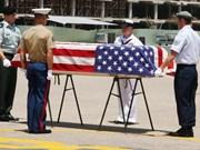 越南向美国移交美军士兵遗骸