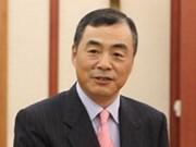 """中国驻越大使孔铉佑被授予""""为各民族和平友谊""""纪念章"""